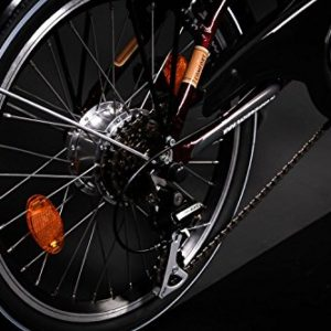 20-Zoll-MIFA-Alu-E-BIKE-Elektro-Fahrrad-Shimano-6-Gang-weinrot-0-0