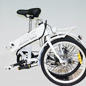 Elektrisches-Klappfahrrad-mit-Motor-250-W-Hchstgeschwindigkeit-25-kmh-Rder-20X-175-Farbe-Grn-0-0